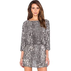 Soft by joie Snake printed dress
